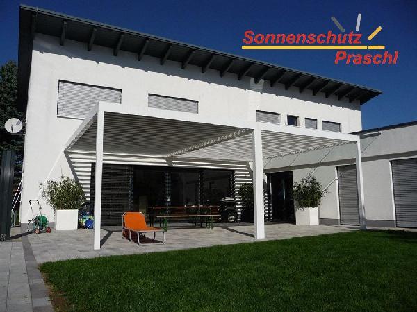 Referenz | Sonnenschutz Praschl | Lamellendach | St.Georgen am Steinfelde