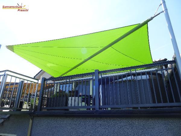 Referenz | Sonnenschutz Praschl | Sonnensegel | St.Georgen am Steinfelde